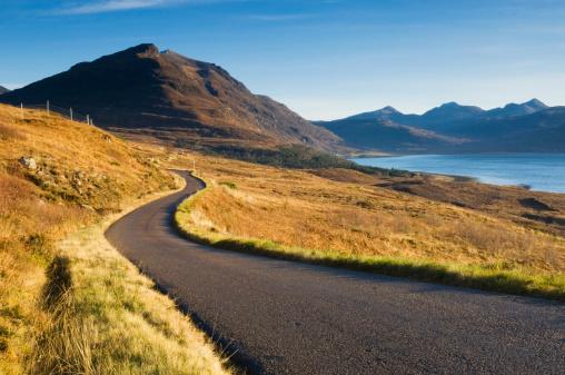 スコットランド文化「リモートスコットランド road」:スマホ壁紙(14)
