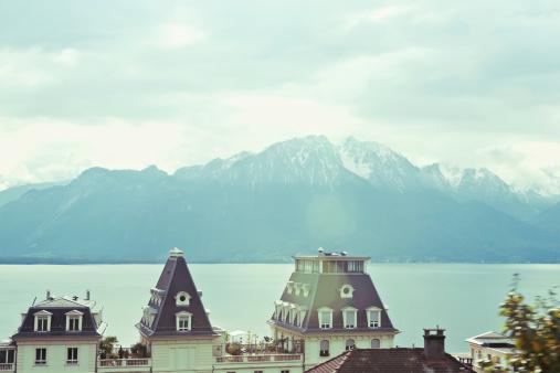 スイス「ジュネーブ湖、ローザーンヌ,Switzerland」:スマホ壁紙(18)