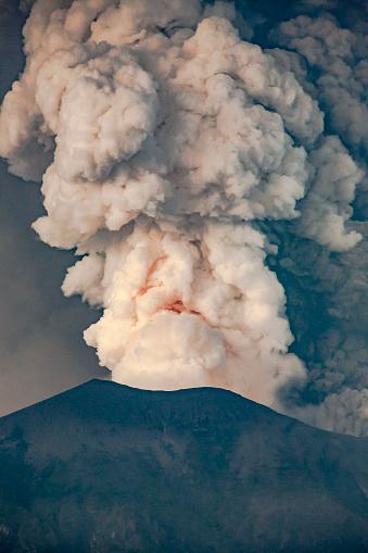 Mt Agung「Agung Eruption Nov. 27, 2017」:スマホ壁紙(8)