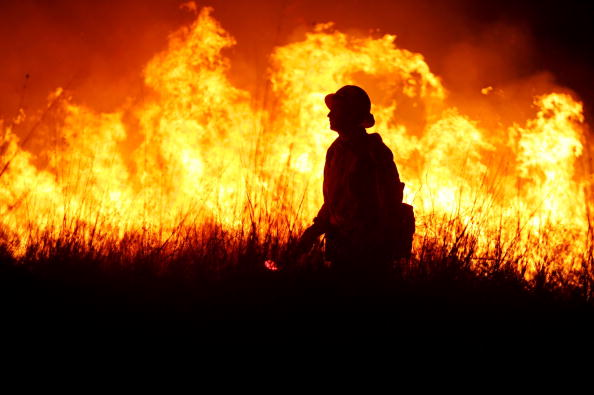 Flame「New Wildfire Spreads Rapidly In Riverside County」:写真・画像(14)[壁紙.com]