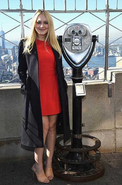 Empire State Building「Dakota Fanning Lights The Empire State Building In Honor Of International Day Of The Girl」:写真・画像(14)[壁紙.com]