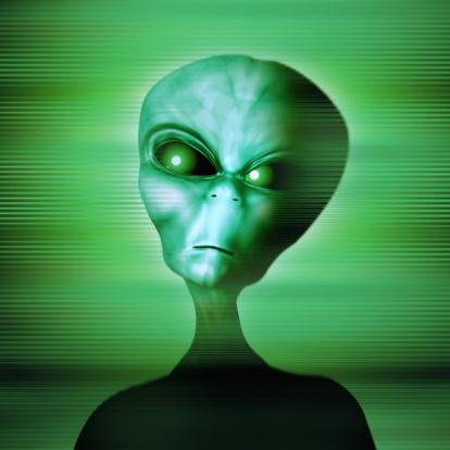 Evil「Green alien looking angry or dangerous」:スマホ壁紙(17)