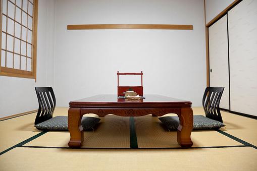 Japan「日本の旅館ルームのインテリア」:スマホ壁紙(17)