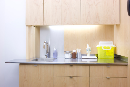 Corner「sink and counter top in doctors office」:スマホ壁紙(1)
