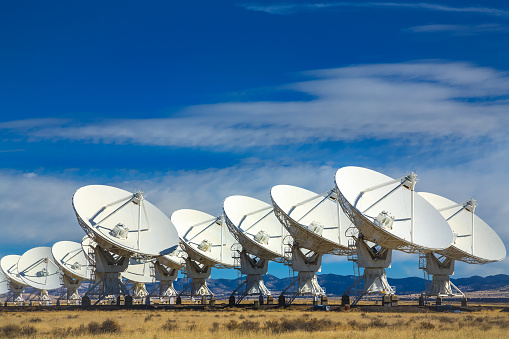 Giant - Fictional Character「VLA outer space radio telescope array, Socorro, New Mexico」:スマホ壁紙(15)