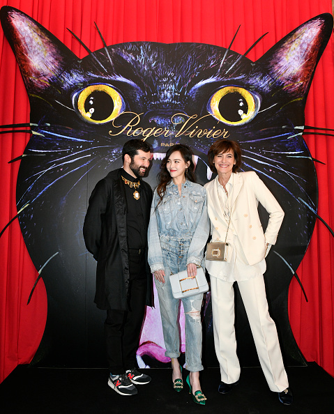Angelababy「Roger Vivier: Day Dream Vivier - Press Day - Paris Fashion Week Womenswear Fall/Winter 2019/2020」:写真・画像(14)[壁紙.com]
