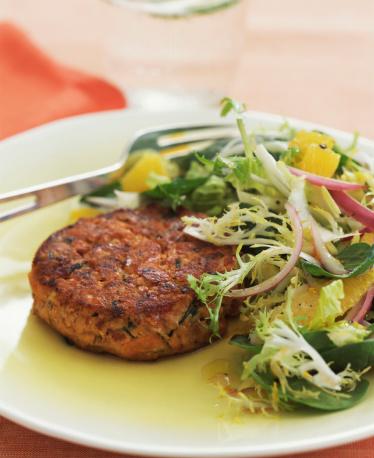 Veggie Burger「Veggie patty with salad」:スマホ壁紙(14)