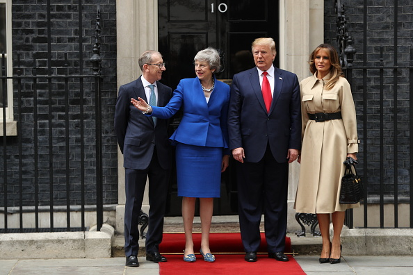 Visit「U.S. President Trump's State Visit To UK - Day Two」:写真・画像(3)[壁紙.com]