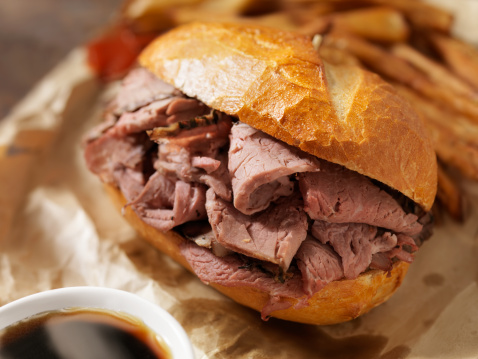 Bun - Bread「Classic Beef Dip with French Fries」:スマホ壁紙(8)
