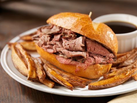 Roast Beef「Classic Beef Dip with French Fries」:スマホ壁紙(5)