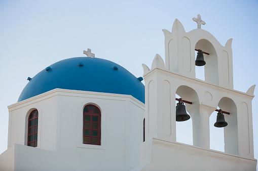 Aegean Sea「Anastasi Church, Santorini Greece.」:スマホ壁紙(0)