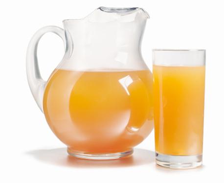 オレンジジュース「Pitcher and glass full of fresh orange juice」:スマホ壁紙(19)