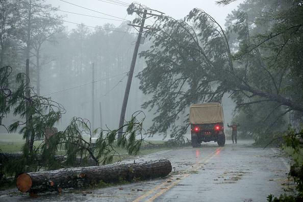 Chip Somodevilla「Hurricane Florence Slams Into Coast Of Carolinas」:写真・画像(16)[壁紙.com]