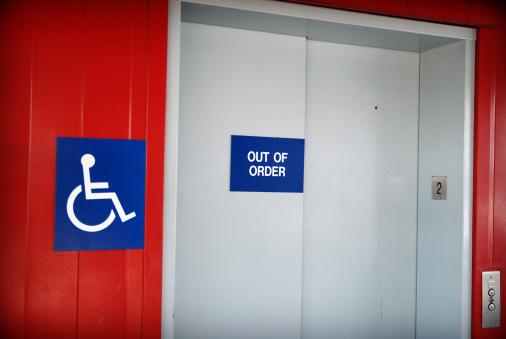 Accessibility Sign「Disable elevator problem」:スマホ壁紙(10)