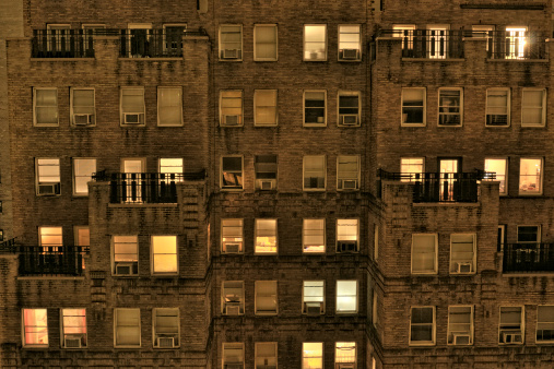 Old-fashioned「Apartments in the Night.NYC」:スマホ壁紙(11)
