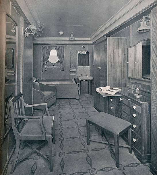 Apartments in the First Class area on board the  S:ニュース(壁紙.com)
