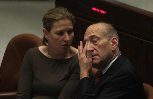 Ehud Olmert「Ehud Olmert And Tzipi Livni」:写真・画像(2)[壁紙.com]