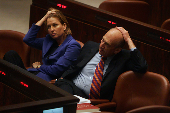 Ehud Olmert「Ehud Olmert And Tzipi Livni」:写真・画像(14)[壁紙.com]