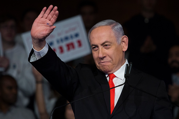 Image「Netanyahu Holds Election Campaign Launch Rally」:写真・画像(19)[壁紙.com]