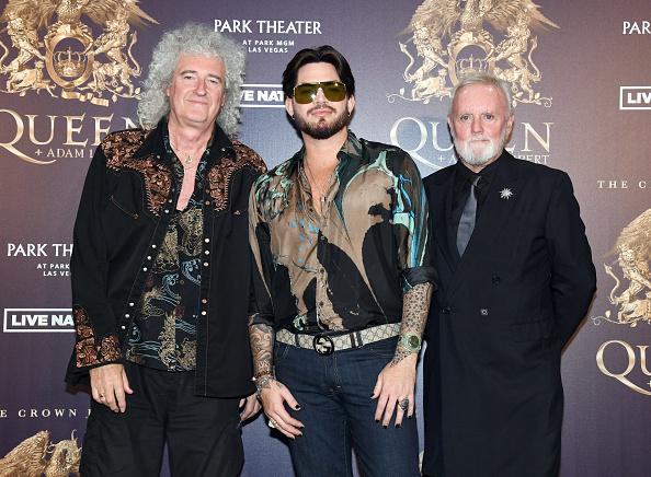 Ethan Miller「Queen + Adam Lambert Make Grand Entrance To Kick Off Limited Engagement Vegas Shows」:写真・画像(9)[壁紙.com]