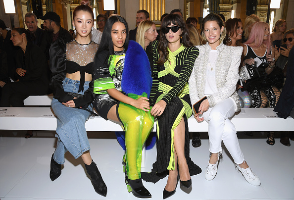 Womenswear「Balmain : Front Row - Paris Fashion Week Womenswear Spring/Summer 2019」:写真・画像(19)[壁紙.com]