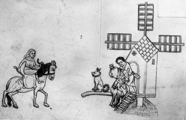 Circa 14th Century「Medieval Windmill」:写真・画像(3)[壁紙.com]