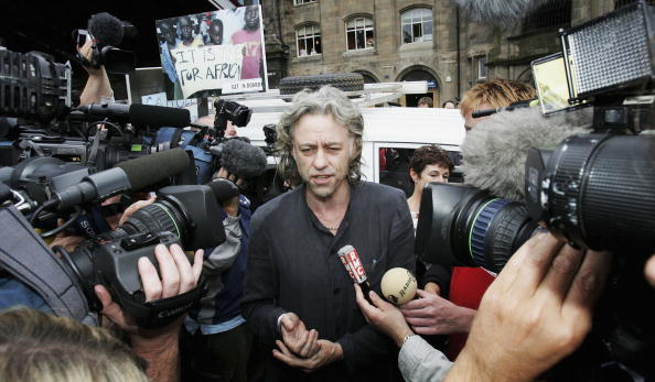 Human Arm「Sir Bob Geldof Heads To Scotland For G8 Summit」:写真・画像(13)[壁紙.com]