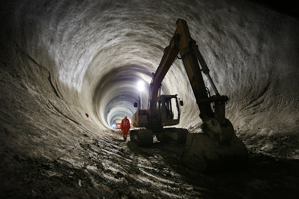 Construction Industry「Work Continues On The Crossrail Railway Project」:写真・画像(7)[壁紙.com]