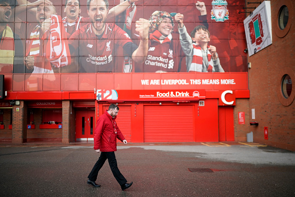 Liverpool - England「Premier League Matches Called Off Over Coronavirus Concerns」:写真・画像(13)[壁紙.com]