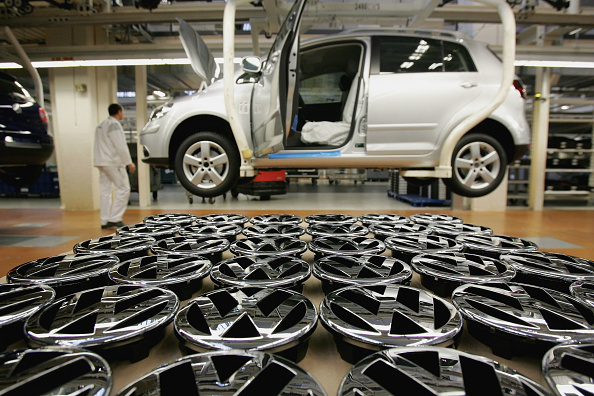 Wolfsburg - Lower Saxony「Press Day At Volkswagen Factory」:写真・画像(2)[壁紙.com]