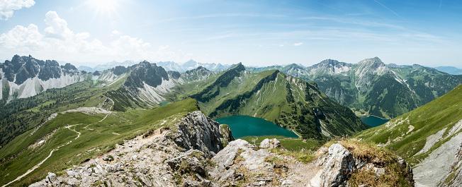 Central Eastern Alps「Schochenspitze」:スマホ壁紙(1)