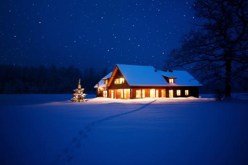 New Year「Home at christmas」:スマホ壁紙(13)