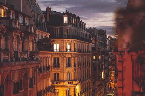 秋「パリの秋」:スマホ壁紙(5)