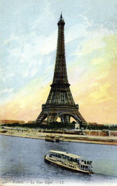 Seine River「Eiffel Tower, Paris. Early 20th century.」:写真・画像(11)[壁紙.com]