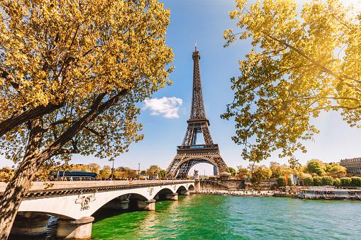 Vacations「Eiffel Tower in Paris, France」:スマホ壁紙(8)