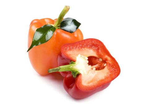 Pepper - Seasoning「pepper close up on white background」:スマホ壁紙(10)
