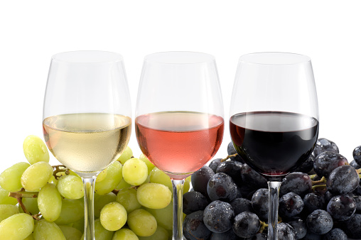 Grape「There wine glasses with fresh white and black grapes」:スマホ壁紙(7)