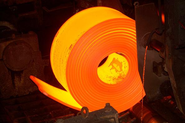 Metallic「Coilbox on the Hot Strip Mill at Corus Port Talbot steelworks, Neath, JM1.」:写真・画像(16)[壁紙.com]
