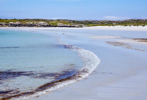 ビーチ「Idyllic sands on the isolated Mannin Bay」:スマホ壁紙(4)