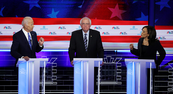 Drew Angerer「Democratic Presidential Candidates Participate In First Debate Of 2020 Election Over Two Nights」:写真・画像(17)[壁紙.com]