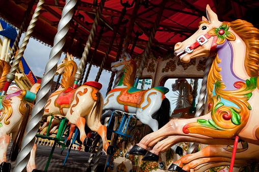 Merry-Go-Round「Historic fairground roundabout」:スマホ壁紙(10)