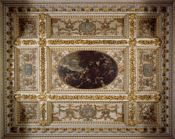Full Frame「Defence of Scutari, Gallery ceiling, Chiswick House, c1990-2010」:写真・画像(5)[壁紙.com]
