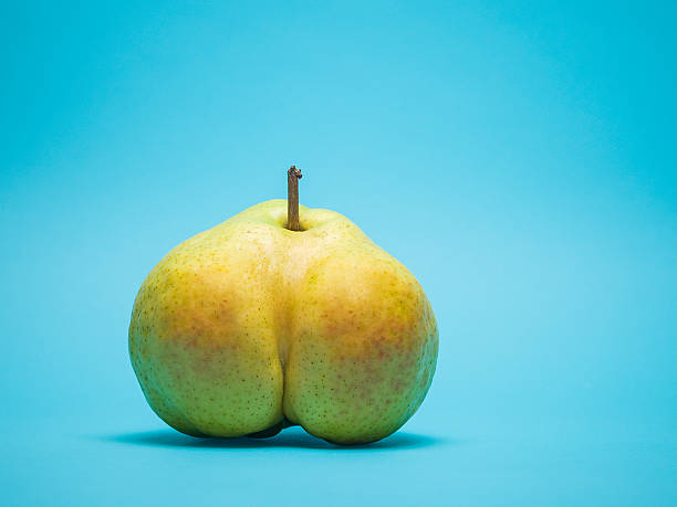 Suggestively shaped pear:スマホ壁紙(壁紙.com)