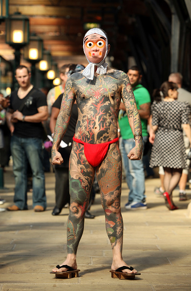 Bestof2009「Enthusiasts Gather At The London Tattoo Convention」:写真・画像(9)[壁紙.com]
