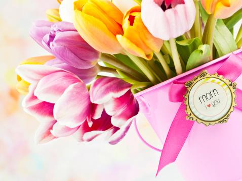 チューリップ「花の母の日や誕生日」:スマホ壁紙(14)