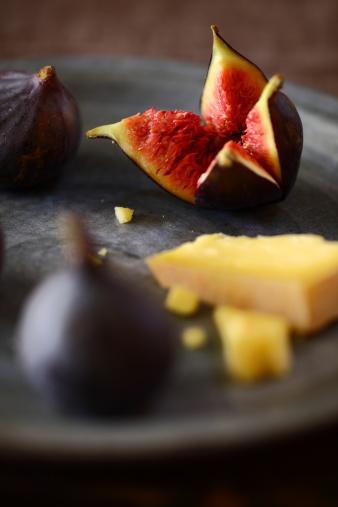イチジク「イチジクとチーズ」:スマホ壁紙(14)