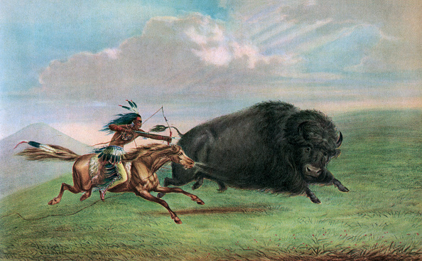 Horse「Print After Buffalo Hunt」:写真・画像(6)[壁紙.com]