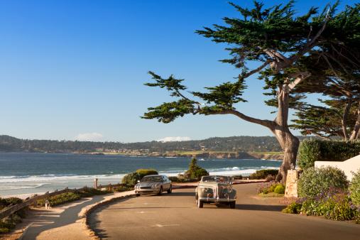 Carmel - California「Street and walkway on Carmel Beach in Carmel-by-the-Sea」:スマホ壁紙(14)