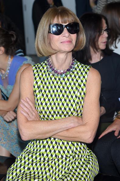 サングラス「Calvin Klein Collection - Front Row - Spring 2016 New York Fashion Week: The Shows」:写真・画像(4)[壁紙.com]