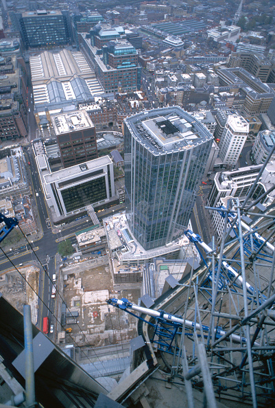 High Angle View「View over the City of London, from Tower 42」:写真・画像(7)[壁紙.com]